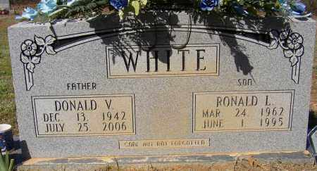 WHITE, DONALD V. - Lonoke County, Arkansas | DONALD V. WHITE - Arkansas Gravestone Photos