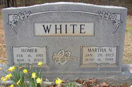 WHITE, HOMER - Lonoke County, Arkansas | HOMER WHITE - Arkansas Gravestone Photos
