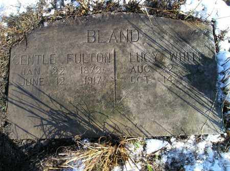 BLAND, CENTLE FULTON - Lonoke County, Arkansas | CENTLE FULTON BLAND - Arkansas Gravestone Photos