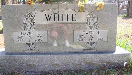 WHITE (VETERAN), HAZEL L. - Lonoke County, Arkansas | HAZEL L. WHITE (VETERAN) - Arkansas Gravestone Photos