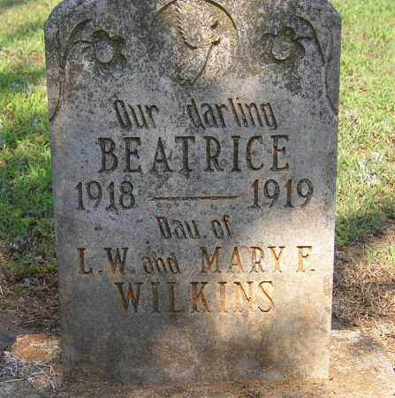 WILKINS, BEATRICE - Lonoke County, Arkansas | BEATRICE WILKINS - Arkansas Gravestone Photos