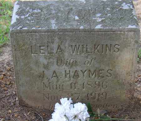 WILKINS, LELA - Lonoke County, Arkansas | LELA WILKINS - Arkansas Gravestone Photos