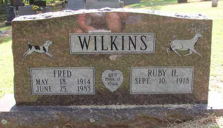 WILKINS (VETERAN WWII), FRED - Lonoke County, Arkansas | FRED WILKINS (VETERAN WWII) - Arkansas Gravestone Photos