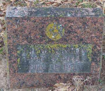 WILKINSON, J  H - Lonoke County, Arkansas | J  H WILKINSON - Arkansas Gravestone Photos