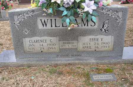 WILLIAMS, EFFIE V. - Lonoke County, Arkansas | EFFIE V. WILLIAMS - Arkansas Gravestone Photos