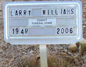 WILLIAMS, LARRY - Lonoke County, Arkansas | LARRY WILLIAMS - Arkansas Gravestone Photos