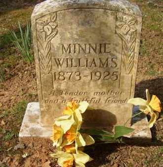 WILLIAMS, MINNIE - Lonoke County, Arkansas | MINNIE WILLIAMS - Arkansas Gravestone Photos