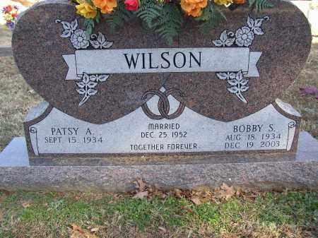 WILSON, BOBBY S. - Lonoke County, Arkansas | BOBBY S. WILSON - Arkansas Gravestone Photos