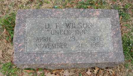 "WILSON, D. F. ""UNCLE DOC"" - Lonoke County, Arkansas 