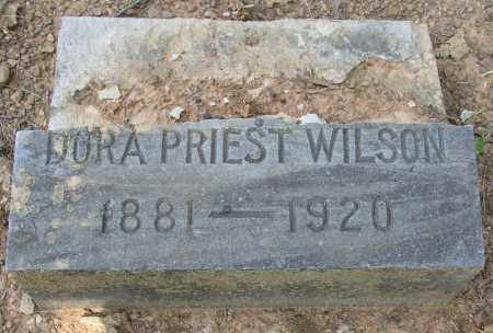 PRIEST WILSON, DORA - Lonoke County, Arkansas | DORA PRIEST WILSON - Arkansas Gravestone Photos