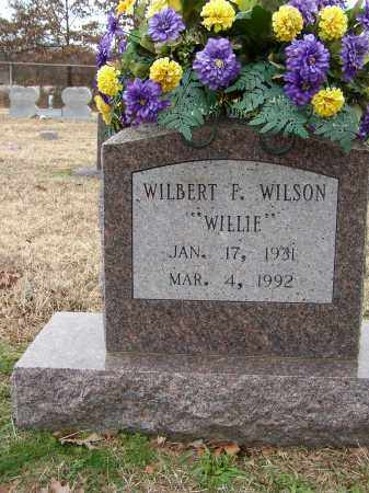 "WILSON, WILBERT F. ""WILLIE"" - Lonoke County, Arkansas 
