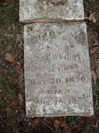 WINDHAM, MARY A. - Lonoke County, Arkansas | MARY A. WINDHAM - Arkansas Gravestone Photos