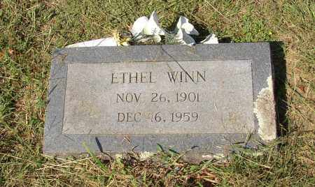 WINN, ETHEL - Lonoke County, Arkansas | ETHEL WINN - Arkansas Gravestone Photos