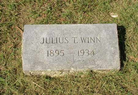WINN, JULIUS T. - Lonoke County, Arkansas | JULIUS T. WINN - Arkansas Gravestone Photos