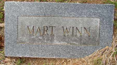 WINN, MART - Lonoke County, Arkansas | MART WINN - Arkansas Gravestone Photos
