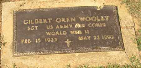WOOLEY  (VETERAN WWII), GILBERT OREN - Lonoke County, Arkansas | GILBERT OREN WOOLEY  (VETERAN WWII) - Arkansas Gravestone Photos