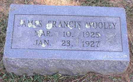 WOOLEY, JAMES FRANCIS - Lonoke County, Arkansas | JAMES FRANCIS WOOLEY - Arkansas Gravestone Photos