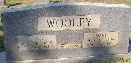 WOOLEY, N. D. - Lonoke County, Arkansas | N. D. WOOLEY - Arkansas Gravestone Photos
