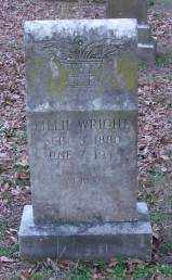 WRIGHT, LILLIE - Lonoke County, Arkansas | LILLIE WRIGHT - Arkansas Gravestone Photos