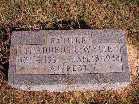 WYLIE, THADDEUS C - Lonoke County, Arkansas | THADDEUS C WYLIE - Arkansas Gravestone Photos