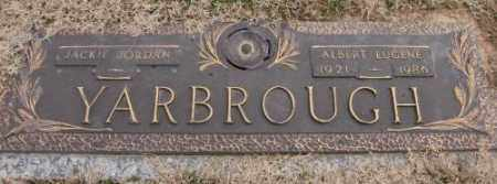 YARBROUGH, ALBERT EUGENE - Lonoke County, Arkansas | ALBERT EUGENE YARBROUGH - Arkansas Gravestone Photos