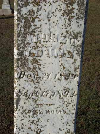 YOUNG, ALONZO - Lonoke County, Arkansas | ALONZO YOUNG - Arkansas Gravestone Photos