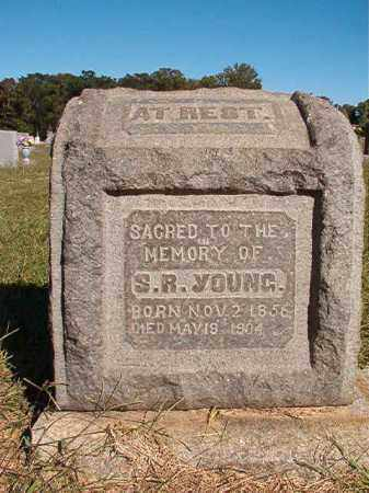 YOUNG, S R - Lonoke County, Arkansas | S R YOUNG - Arkansas Gravestone Photos