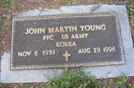 YOUNG (VETERAN KOR), JOHN MARTIN - Lonoke County, Arkansas | JOHN MARTIN YOUNG (VETERAN KOR) - Arkansas Gravestone Photos
