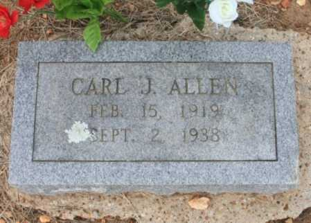 ALLEN, CARL J. - Madison County, Arkansas | CARL J. ALLEN - Arkansas Gravestone Photos
