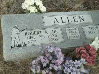 ALLEN, ROBERT ALBERT JR. - Madison County, Arkansas | ROBERT ALBERT JR. ALLEN - Arkansas Gravestone Photos