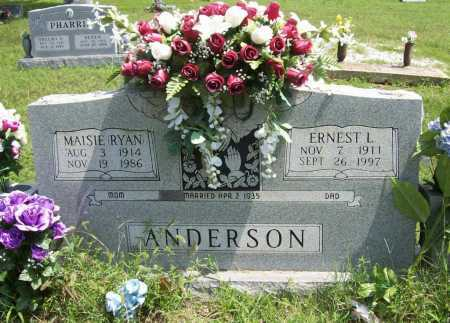 RYAN ANDERSON, MAISIE - Madison County, Arkansas | MAISIE RYAN ANDERSON - Arkansas Gravestone Photos