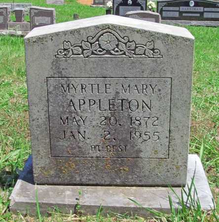 APPLETON, MYRTLE MARY - Madison County, Arkansas | MYRTLE MARY APPLETON - Arkansas Gravestone Photos