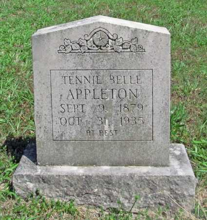 APPLETON, TENNIE BELLE - Madison County, Arkansas | TENNIE BELLE APPLETON - Arkansas Gravestone Photos