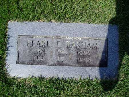 BASHAM, PEARL E. - Madison County, Arkansas | PEARL E. BASHAM - Arkansas Gravestone Photos