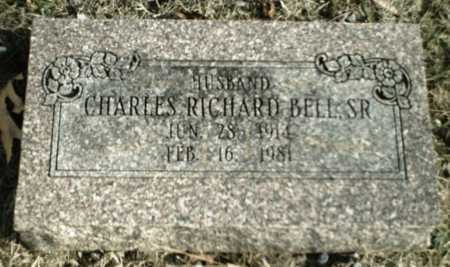 BELL SR., CHARLES RICHARD - Madison County, Arkansas | CHARLES RICHARD BELL SR. - Arkansas Gravestone Photos