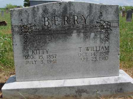 BERRY, THOMAS WILLIAM - Madison County, Arkansas | THOMAS WILLIAM BERRY - Arkansas Gravestone Photos