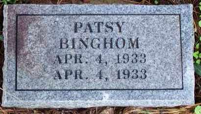 BINGHAM, PATSY - Madison County, Arkansas | PATSY BINGHAM - Arkansas Gravestone Photos