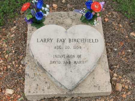 BIRCHFIELD, LARRY FAY - Madison County, Arkansas | LARRY FAY BIRCHFIELD - Arkansas Gravestone Photos