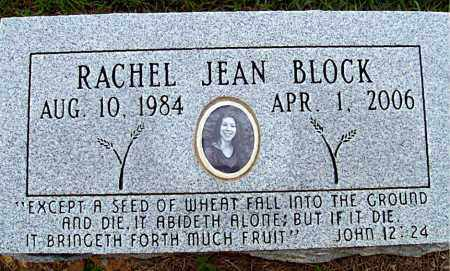 BLOCK, RACHEL JEAN - Madison County, Arkansas | RACHEL JEAN BLOCK - Arkansas Gravestone Photos