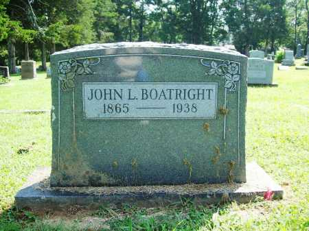 BOATRIGHT, JOHN L. - Madison County, Arkansas | JOHN L. BOATRIGHT - Arkansas Gravestone Photos
