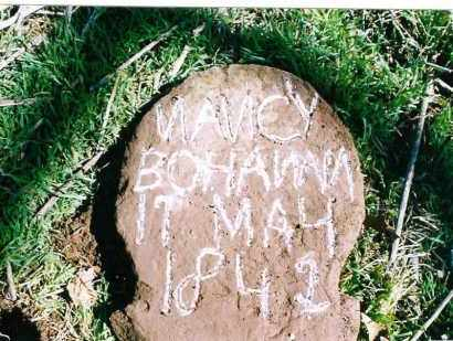 BOHANAN, NANCY - Madison County, Arkansas | NANCY BOHANAN - Arkansas Gravestone Photos
