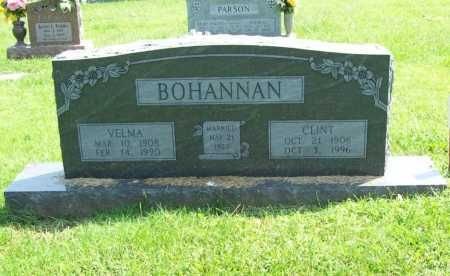 BOHANNAN, VELMA - Madison County, Arkansas | VELMA BOHANNAN - Arkansas Gravestone Photos