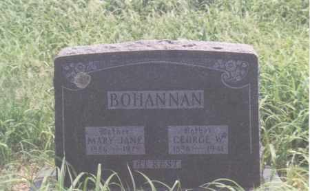 BOHANNAN, MARY JANE - Madison County, Arkansas | MARY JANE BOHANNAN - Arkansas Gravestone Photos
