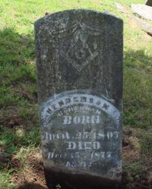 BOHANNAN, HENDERSON - Madison County, Arkansas | HENDERSON BOHANNAN - Arkansas Gravestone Photos