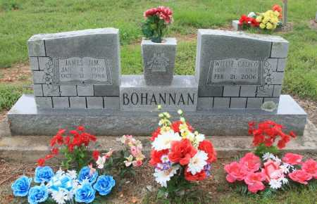 "BOHANNAN, JAMES ""JIM"" - Madison County, Arkansas 
