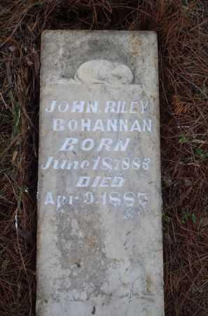 BOHANNAN, JOHN RILEY - Madison County, Arkansas | JOHN RILEY BOHANNAN - Arkansas Gravestone Photos