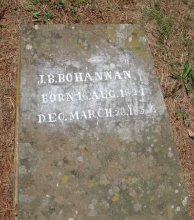 BOHANNAN, J. B. - Madison County, Arkansas | J. B. BOHANNAN - Arkansas Gravestone Photos