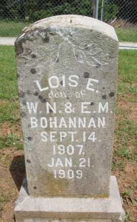 BOHANNAN, LOIS E. - Madison County, Arkansas | LOIS E. BOHANNAN - Arkansas Gravestone Photos