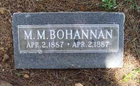 BOHANNAN, M. M. - Madison County, Arkansas | M. M. BOHANNAN - Arkansas Gravestone Photos