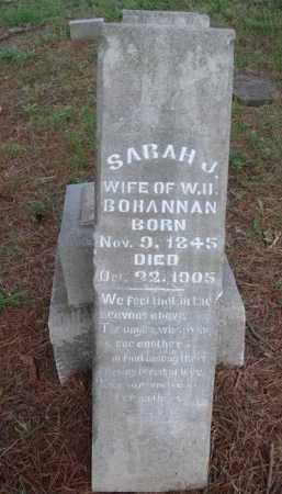 BOHANNAN, SARAH - Madison County, Arkansas | SARAH BOHANNAN - Arkansas Gravestone Photos